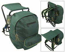 FISHING TACKLE SEAT BAG BACKPACK RUCKSACK CAMPING STOOL SEAT BOX TACKLE BOX BAG