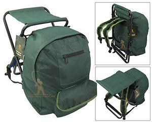 FISHING TACKLE SEAT BAG BACKPACK RUCKSACK CAMPING STOOL SEAT BOX TACKLE BOX BAG