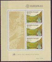 Portugal-Azoren 1983 postfrisch MiNr. Block 4 Europa Geothermisches Kraftwerk