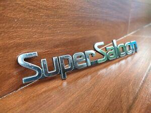 Super Saloon Trunk lid Emblem Badge Ft Nissan Sunny B13 1990-2012 OEM 8489685Y00