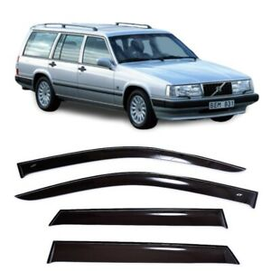 For Volvo 940 Sd/Combi 1990-1998 Side Window Visors Rain Guard Vent Deflectors