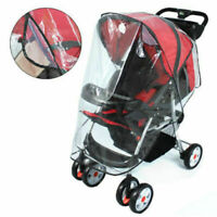New Universal Waterproof Rain Cover Wind Shield Fit Most Strollers Pushchairs