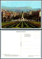 Panoramic Map of the World --- Modern Postcard Europe Asia etc United States