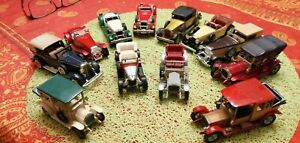 Lot 12 voitures miniatures matchbox lesney models of yesteryear made in england