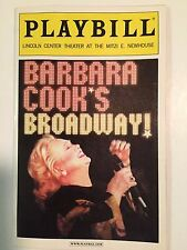 Barbara Cook's Broadway - June 2004 Playbill
