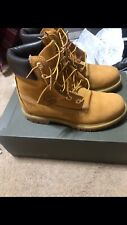 Timberland Premium 6 Inch Woman's Boots Brand New Size 7.5 Wheat Color