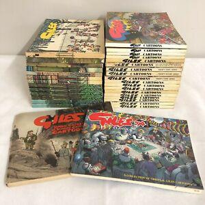 33x Vintage Giles Cartoons Bundles Pedigree Books 1990s Collectable 25044 CP