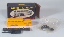 "Vtg Lindberg Line Mini Lindy Greyhound Bus 3.25"" Plastic Model Kit Scenicruiser"