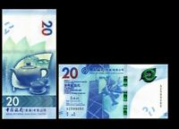 Hong Kong - Lion//Autumn Festival//p212-New 1.1.2016 20 Dollars HSBC