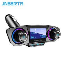 JINSERTA FM Aux Émetteur Modulateur Bluetooth Mains Libres Voiture Kit