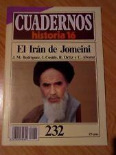 CUADERNOS HISTORIA 16. Nº 232 EL IRÁN DE JOMEINI