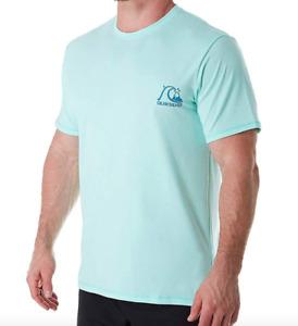 Quiksilver Men's Standard Heritage Short Sleeve Rashguard Surf Shirt Sz M