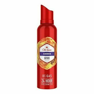 Old Spice Amber No Gas Deodorant Body Spray 140 ml