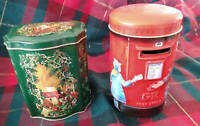Churchill's Heritage Post Office Box  and Avon 1982 Christmas Box ENGLAND