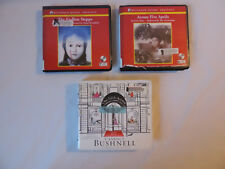 Lot 8 Audiobooks on CD Fiction Mystery by Brown, Jance, Hautzig, Hung, Bushnell