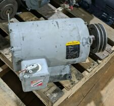 15hp Baldor M2513t Industrial Electric Motor 208 230460v 1760rpm 3ph Can Ship