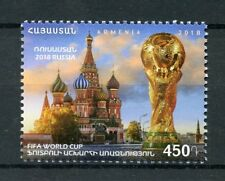 Armenia 2018 MNH World Cup Football Russia 1v Set St Basils Cathedral Stamps