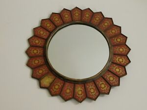 Baker Furniture Company Eglomise Mirror South Con Collection