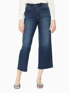 Brand New kate spade cropped wide leg denim 15us ship new with tags