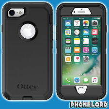 Genuine OtterBox Defender case cover for iPhone 7 8 2017 Heavy Duty tough BLACK