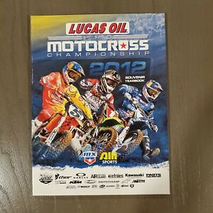 2012 Motocross National Race MX Red Bud Dungey Stewart Reed Villopoto Yearbook