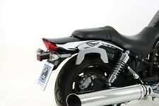 HYOSUNG GV 650 SPORTCRUISER PANNIERS HEPCO & BECKER XTRAVEL FOR C-BOW CARRIERS