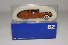 @. 1:43 RIO 82 LINCOLN CONTINENTAL BERLINA 1941 BROWN MINT BOXED