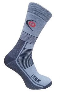 Trekking Extreme Socks Winter Thick Hiking Endurance Outdoor Light Grey 3 sizes