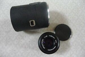 Vintage  Pentacon MC Prakiticar  F1.8 50mm Camera Lens