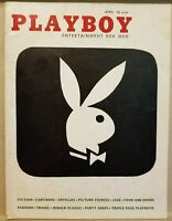 Playboy April 1956 * Very Good Condition * Free Shipping USA