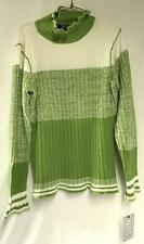 Nils Jenni Designer Sweater Color Apple Women's Large NEW