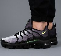 Nike Air Vapormax Plus Trainers 924453-009 UK12/EU47.5/US13  Black Volt White