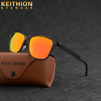 KEITHION Aluminium HD Mens Polarized Sunglasses Driving Fishing Sports Eyewear