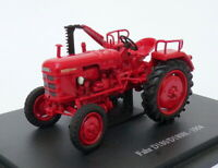 Hachette 1/43 Scale Model Tractor HT140 - 1954 Fahr D180/D180H - Red