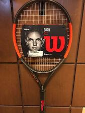 Wilson Burn 25S Junior Tennis Racquet. BRAND NEW. JR racket. With Cover! Wilson