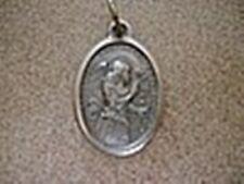 "St Gabriel the Archangel / Pray for Us Oxidized Medal (7/8"" x5/8"")"