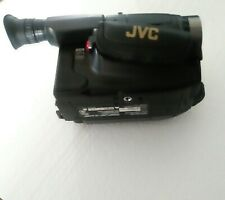 Vintage JVC GR-AXM70 Compact VHS Camcorder With Accessories Ambico Bag - Works