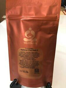 Teavana SAMURI CHAI MATE Tea, 2oz Sealed Unopened Loose-Leaf