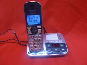 Digitales Schnurlos Telefon integrierten Anrufbeantworter Panasonic KX-TGE 520
