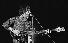 JOHN ENTWHISTLE of The Who, Photograph by Baron Wolman, SIGNED