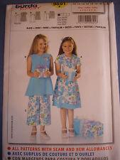 Burda Sewing Pattern 9430 Girls Childs Jacket Skirts Size 6-12 Euro 116-152