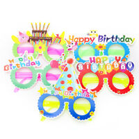 1pcs Cartoon funny party paper glasses happy birthday theme party supplies AT3C
