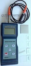 Digital Coating Thickness Gauge Meter NF on Magnetic F Type w/ Calibration Foil