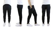 Mens French Terry Active Jogger Pants Sweatpants Lounge Sleep Gym S M L XL XXL