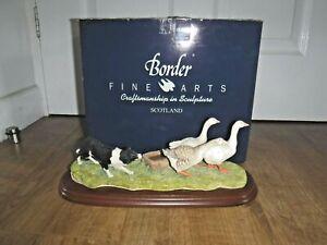 Border Fine Arts Figure ~ A wild Goose Chase ~ B0088 ~ Boxed ~ Excellent ~ RARE