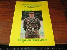 WW II Waffen S.S. Camouflaged Uniforms Part Two / 1988 SC FOLIO COLOR ILLUS.