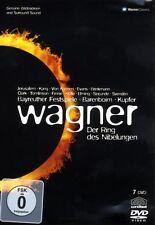 DANIEL BARENBOIM - DER RING DES NIBELUNGEN 7 DVD NEU