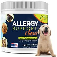 Allergy Relief Immune Supplement for Dogs - Itching Skin Relief Amate Pets