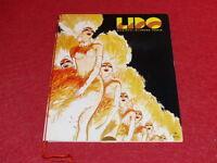 PROGRAMME CABARET PARIS / LIDO 1976 Couverture de GRUAU