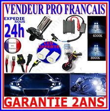 KIT DE CONVERSION XENON HID AMPOULE H4 6000K 35W LAMPE FEUX DE CROISEMENT PHARE